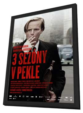 3 Seasons in Hell - 11 x 17 Movie Poster - Russian Style A - in Deluxe Wood Frame