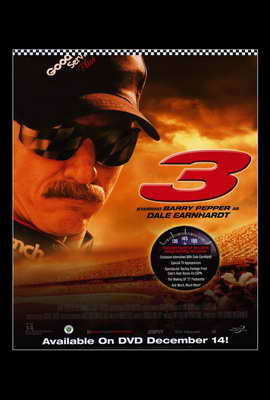 3: The Dale Earnhardt Story - 27 x 40 Movie Poster - Style A