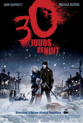 30 Days of Night - 11 x 17 Movie Poster - French Style A