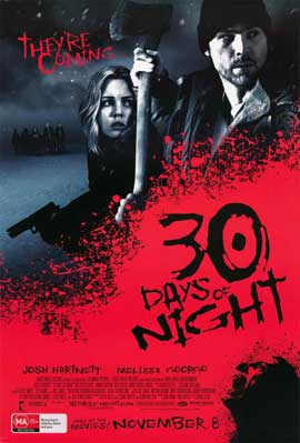 30 Days of Night - 11 x 17 Movie Poster - Style F