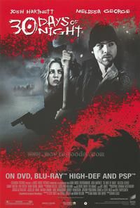 30 Days of Night - 43 x 62 Movie Poster - Bus Shelter Style G