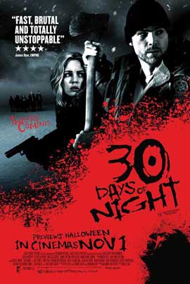 30 Days of Night - 11 x 17 Movie Poster - UK Style A