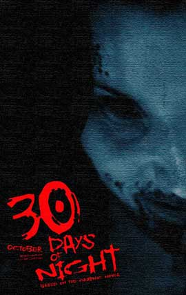 30 Days of Night - 11 x 17 Movie Poster - Style W