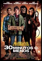 30 Minutes or Less - 11 x 17 Movie Poster - Spanish Style A
