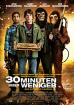 30 Minutes or Less - 11 x 17 Movie Poster - German Style A