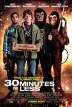 30 Minutes or Less - 11 x 17 Movie Poster - Style B