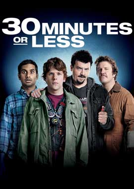 30 Minutes or Less - 43 x 62 Movie Poster - Bus Shelter Style A