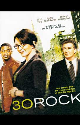 30 Rock - 11 x 17 TV Poster - Style A