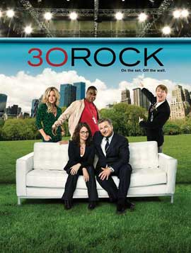 30 Rock - 11 x 17 TV Poster - Style F