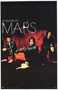 30 Seconds To Mars - Music Poster - 22 x 34 - Style A