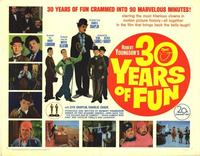 30 Years of Fun - 11 x 14 Movie Poster - Style G
