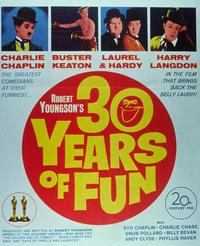 30 Years of Fun - 11 x 14 Movie Poster - Style E