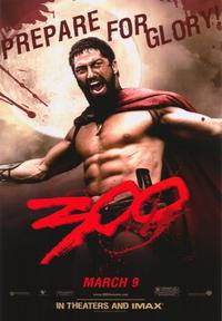 300 - 43 x 62 Movie Poster - Bus Shelter Style F