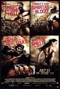 300 - 11 x 17 Movie Poster - Style V