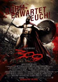 300 - 11 x 17 Movie Poster - German Style A