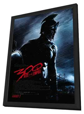 300: Rise of an Empire - 27 x 40 Movie Poster - Style A - in Deluxe Wood Frame