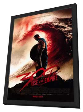 300: Rise of an Empire - 11 x 17 Movie Poster - Style B - in Deluxe Wood Frame