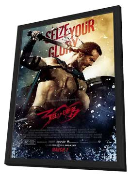 300: Rise of an Empire - 11 x 17 Movie Poster - Style C - in Deluxe Wood Frame