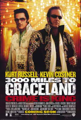 3000 Miles to Graceland - 11 x 17 Movie Poster - Style A