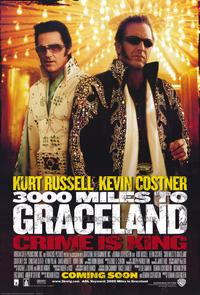 3000 Miles to Graceland - 43 x 62 Movie Poster - Bus Shelter Style A