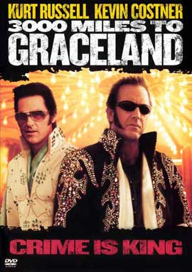 3000 Miles to Graceland - 27 x 40 Movie Poster - Style B