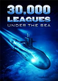 30,000 Leagues Under the Sea - 11 x 17 Movie Poster - Style B