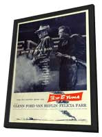 3:10 to Yuma - 27 x 40 Movie Poster - Style A - in Deluxe Wood Frame