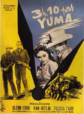 3:10 to Yuma - 11 x 17 Movie Poster - French Style B