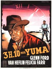 3:10 to Yuma - 11 x 17 Movie Poster - French Style C