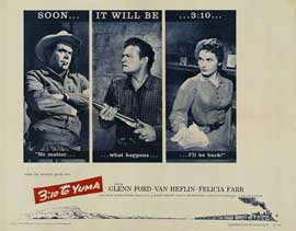 3:10 to Yuma - 22 x 28 Movie Poster - Half Sheet Style A