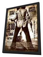3:10 to Yuma - 11 x 17 Movie Poster - Style C - in Deluxe Wood Frame