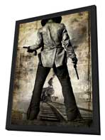 3:10 to Yuma - 11 x 17 Movie Poster - Style J - in Deluxe Wood Frame