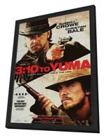 3:10 to Yuma - 27 x 40 Movie Poster - Style D - in Deluxe Wood Frame