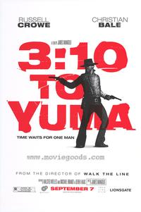 3:10 to Yuma - 43 x 62 Movie Poster - Bus Shelter Style B