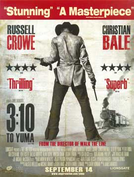 3:10 to Yuma - 11 x 17 Movie Poster - UK Style E