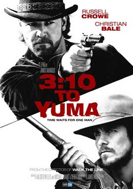 3:10 to Yuma - 27 x 40 Movie Poster - Swedish Style A