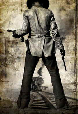 3:10 to Yuma - 27 x 40 Movie Poster - Style J