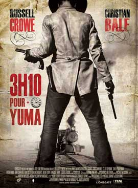 3:10 to Yuma - 11 x 17 Movie Poster - French Style A