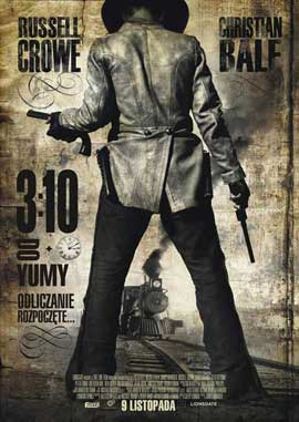 3:10 to Yuma - 11 x 17 Movie Poster - Polish Style A