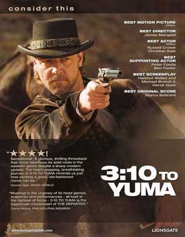 3:10 to Yuma - 11 x 14 Movie Poster - Style B