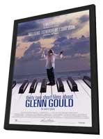 32 Short Films about Glenn Gould - 11 x 17 Movie Poster - Style A - in Deluxe Wood Frame