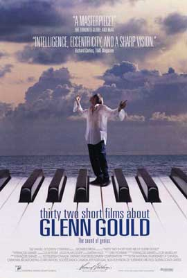 32 Short Films about Glenn Gould - 11 x 17 Movie Poster - Style A