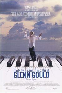 32 Short Films about Glenn Gould - 43 x 62 Movie Poster - Bus Shelter Style A
