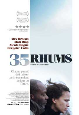 35 Shots of Rum - 11 x 17 Movie Poster - French Style B