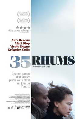 35 Shots of Rum - 27 x 40 Movie Poster - French Style A