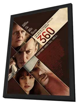360 - 11 x 17 Movie Poster - Style A - in Deluxe Wood Frame