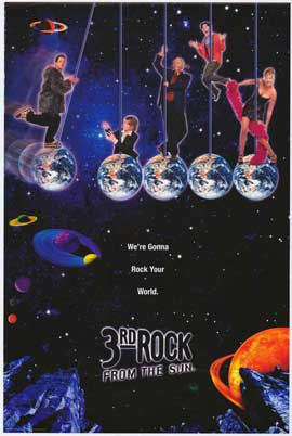 3rd Rock from the Sun - 11 x 17 TV Poster - Style B