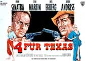 4 for Texas - 11 x 17 Movie Poster - German Style A