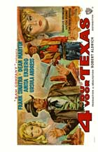 4 for Texas - 22 x 28 Movie Poster - Half Sheet Style A