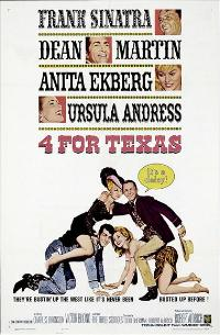 4 for Texas - 11 x 17 Movie Poster - Style A